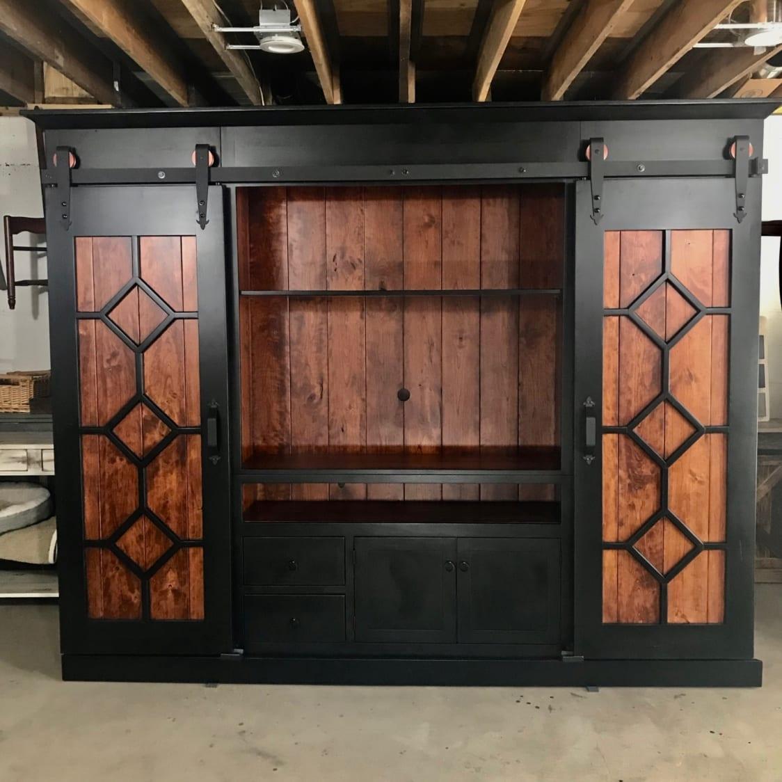 Diamond Door Entertainment Cabinet